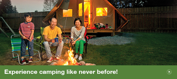 Experience camping like never before!