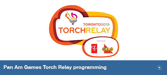 Pan Am Games Torch Relay programming