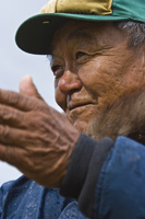 Photo of Inuit Elder