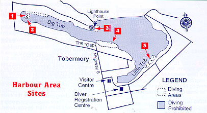 Harbour Area Site Map