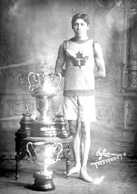 Tom Longboat; The Canadian Runner, April 22 1907