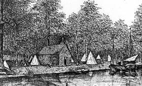 Ville-Marie en 1642 (Québec)