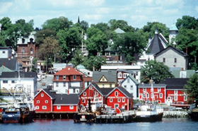 Old Town Lunenburg Historic District Waterfront