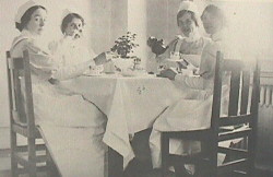 Resident nurses at the General Hospital