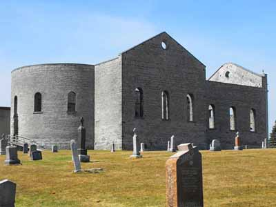 All That Remains Of St Raphaels >> Parks Canada Ruin Of St Raphael S Roman Catholic Church National