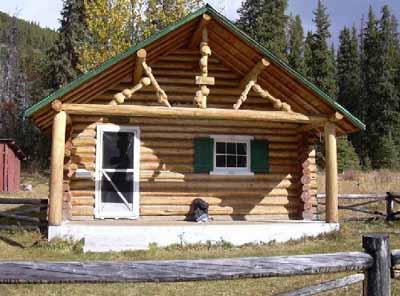 Parks Canada - zeau Warden Cabin on