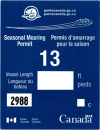 Seasonal Mooring Permit