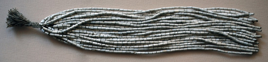 Wampum Beads, 25 strands