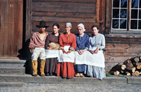 YCW Student Interpreters at Fort Langley National Historic Site