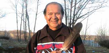Stewart King (Aka Zhengos, Megizi odoodem), Wasauksing First Nation , Member of Parks Canada's Aboriginal Consultative Committee, Parry Sound, Ontario