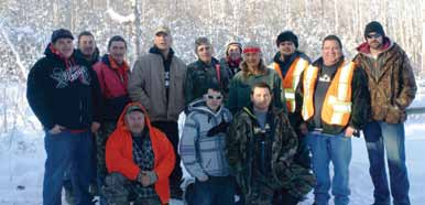 Keeseekoowenin Ojibway First Nation and Rolling River First Nation Wildlife Technicians
