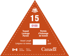 Sample of Seasonal Transit Permit