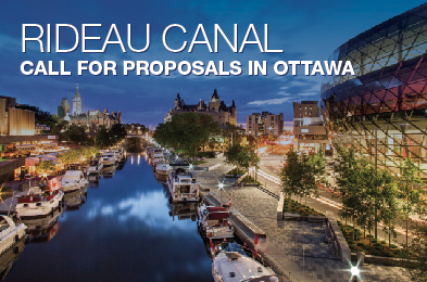 Rideau Canal - call for proposals in Ottawa