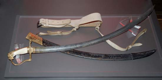 Sword, Scabbard and Sword Belt of Lieutenant-Colonel William Caldwell, Senior