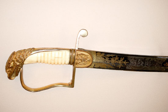 Sabre of Lieutenant Colonel Benjamin Forsyth, 1st US Rifle Regiment
