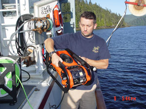 Seabotix LBV-150 remotely operated vehicle