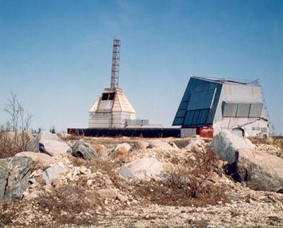 General view of the Churchill Research Rocket Range, showing its special-purpose buildings and structures in their as-found designs, materials, and construction technology