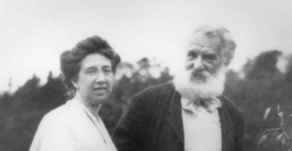 Alexander Graham Bell and Mabel Hubbard