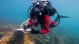 Underwater archaeological excavations