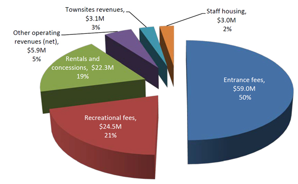 Revenues by Major Classification