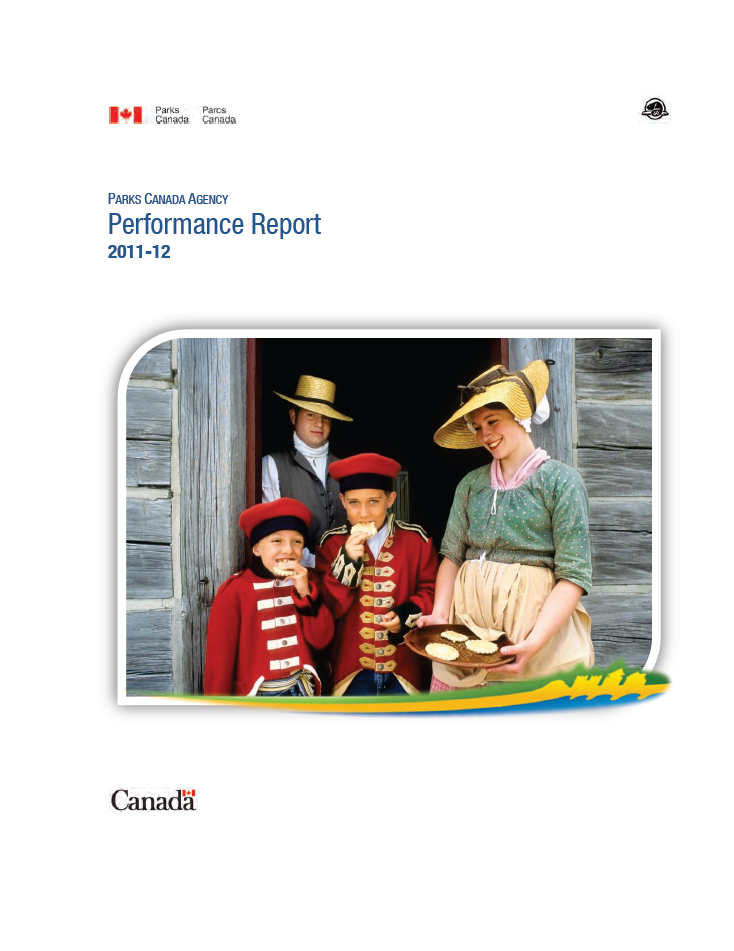Cover Image - Parks Canada Departmental Performance Report 2011-12