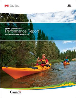 Parks Canada's Performance Report for the period ending March 31, 2010