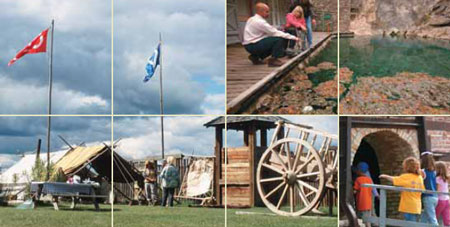 National Historic Sites in Alberta
