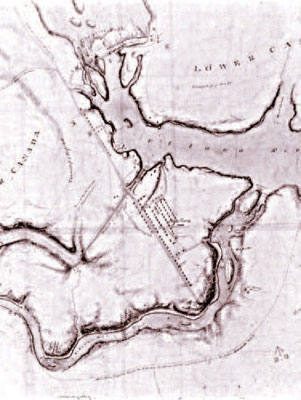 An early map of Bytown