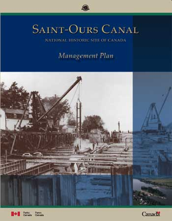 Saint-Ours Canal National Historic Site of Canada Management Plan