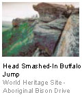 Head Smashed-In Buffalo Jump - World Heritage Site - Aboriginal Bison Drive