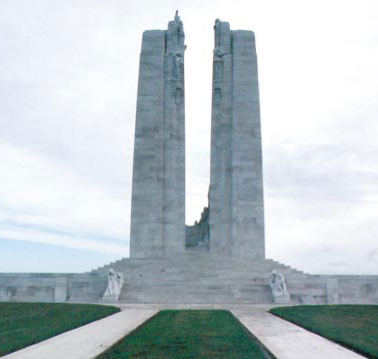 Vimy Ridge, France - Canada's Contribution and Sacrifice in the First World War