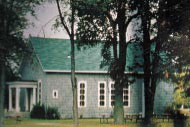Buxton Settlement, Ontario - Schoolhouse in Farming Community Established by Underground Railroad Refugees