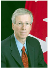 The Honourable Stéphane Dion, Minister of the Environment