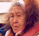 Inuvialuit elder from Tuktoyaktuk