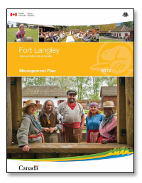 Fort Langley Management Plan 2013