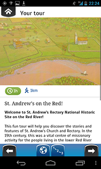 Guided Tour App- St. Andrew's Rectory