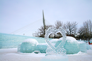 Come to The Forks National Historic Site for the most exciting celebration of ice and snow!