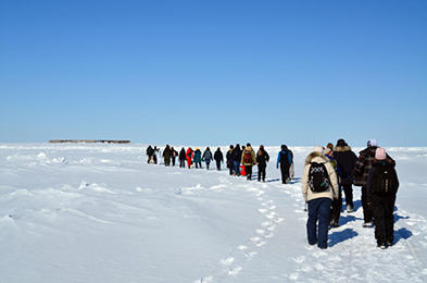 Join us in a winter hike to Prince of Wales Fort National Historic Site!