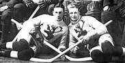 The Regimental Hockey Team of the Royal Newfoundland Regiment (1916-1918)