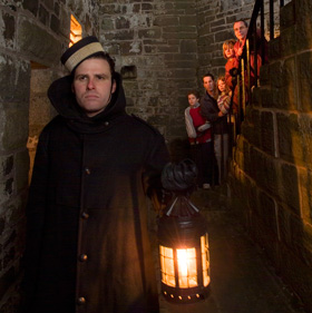 Ghost tour, Halifax Citadel National Historic Site