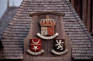Coats of arms at the Habitation
