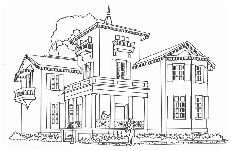 Colouring Book Bellevue House