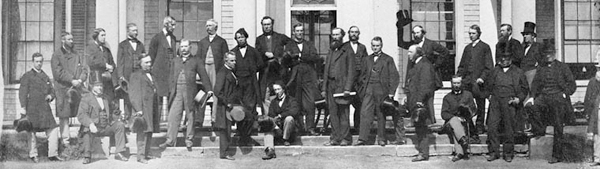 Convention at Charlottetown, P.E.I., of Delegates from the Legislatures of Canada, New Brunswick, Nova Scotia, and Prince Edward Island to take into consideration the Union of the British North American Colonies. (September 11, 1864)�D;�A;