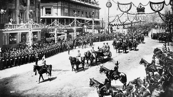 Queen Victoria's Diamond Jubilee parade, London 1897