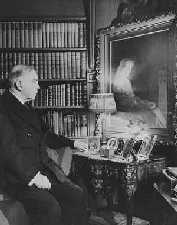 King in his study at Laurier House circa 1940's