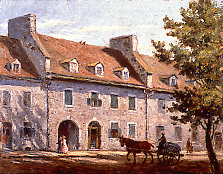 The Cartier House, after 1818