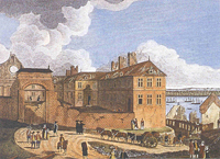 The Episcopal Palace after the 1759 shelling