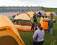Let's Camp at the Lévis Forts!