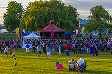 The concerts Sur l'air de Chambly, presented by the Ville de Chambly, at parc des Ateliers