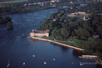 Fort Chambly from the sky